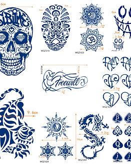 2 Week tattoos collage