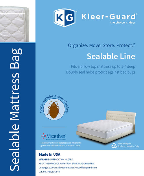 Sealable Mattress Bags