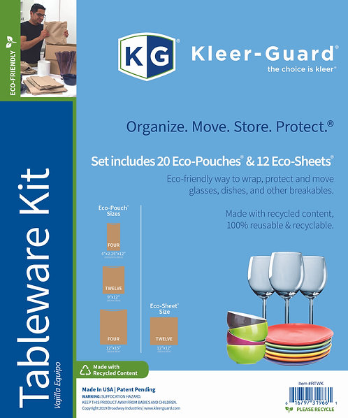 Eco-Friendly Tableware Kit