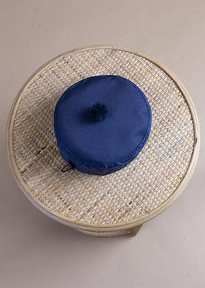 POMPON HAT dark blue