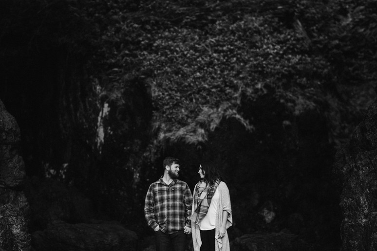 Steph + Ty | West Coast Adventure Engagement