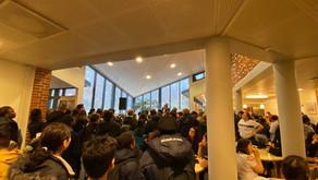 Bilder från Fasteaktionen 5 mars