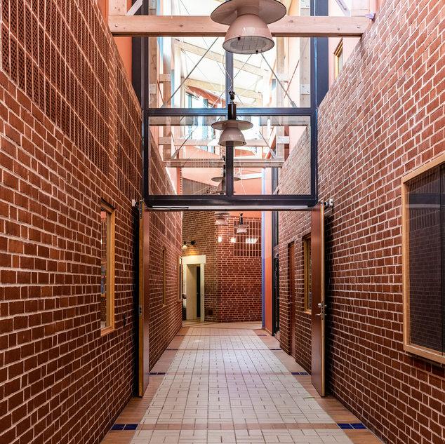 Korridor övre plan