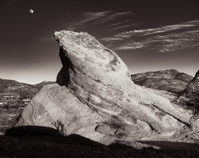 Nature-Ramp to the moon in Vasquez Rocks