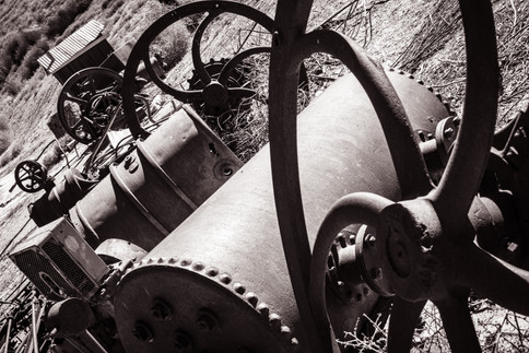 Industrial-Old Machinery in Mentryville