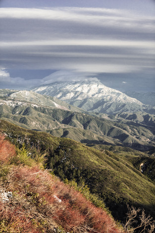 Landscapes-San Bernardino mountains (tak
