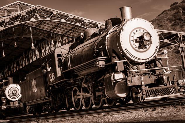 Transits-Travel Town locomotive 26 (FDma