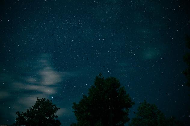 Night-Night sky over Hanna Flats (pergea