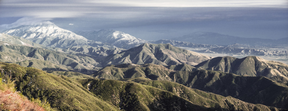 Landscapes-San Bernardino mountains (tak