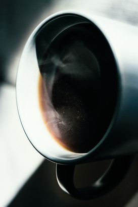 Artsy-Coffee cup in the morning (pentaco