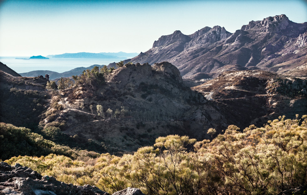 Landscapes-Santa Monica Mountains from G