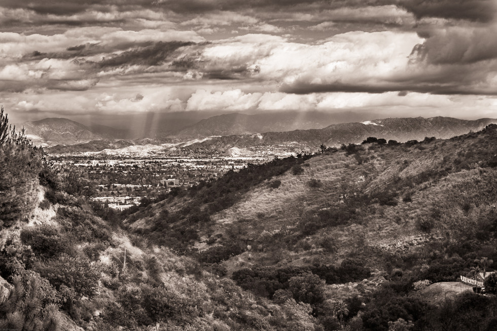 Landscape-San Fernando Valley Studio Cit