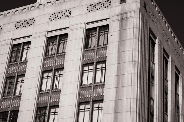 Buildings-DTLA art deco building facade