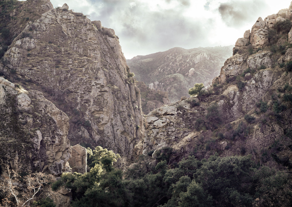 Landscapes-Malibu Creek canyon (takumar5