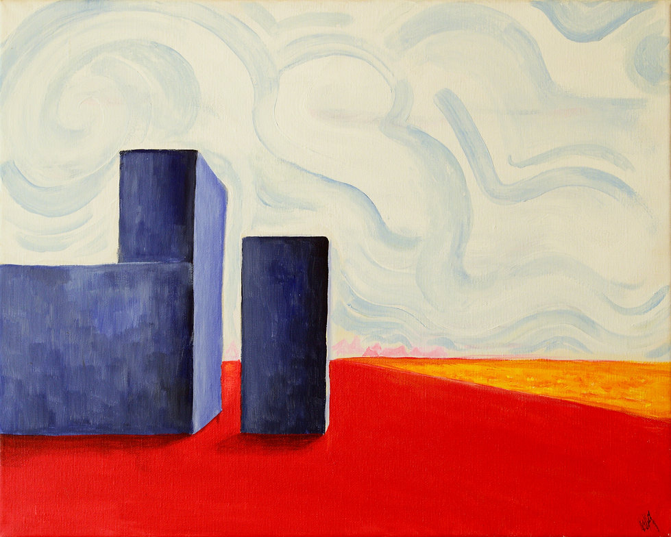 Isolation - Wolf Kroeger (20''x16'', Acr