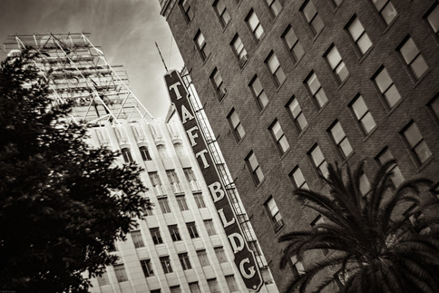 Buildings-Taft building Hollywood (helio