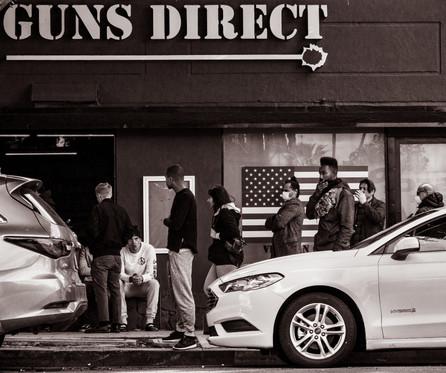 Gun store during Corona Virus