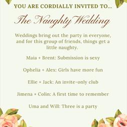 Naughty Wedding Series By Amelia Sophia