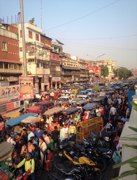 Chandni Chowk, Delhi - An Experience in itself