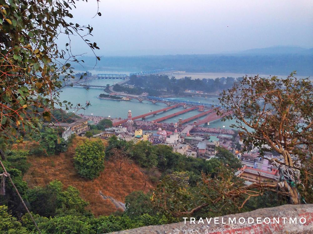 View of the cityHaridwar from HimalayanShivalik Hills