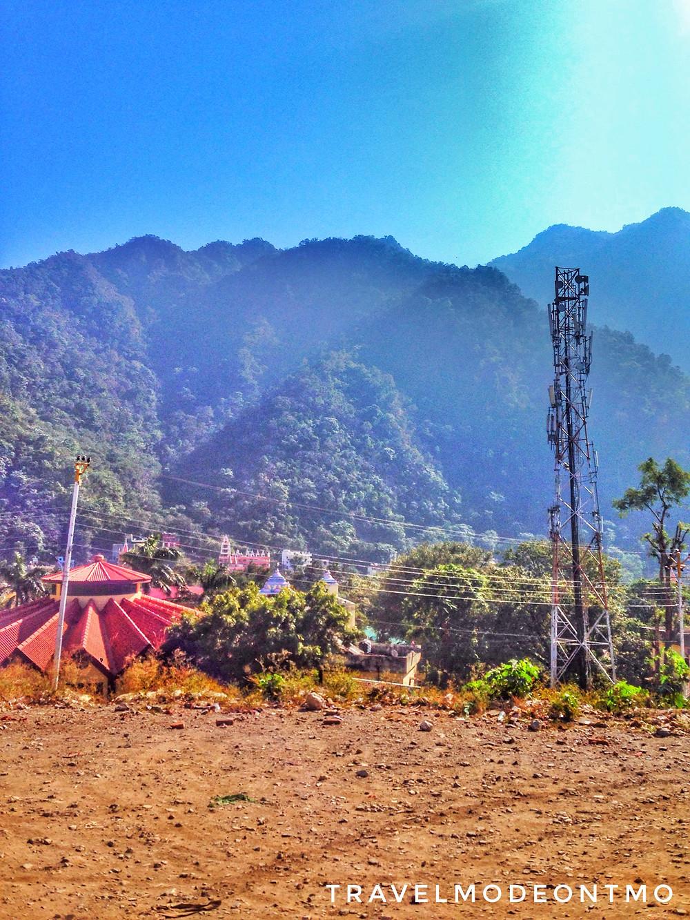 The stunning view of Shivalik Hill