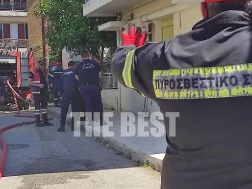 Τραγωδία στην Πάτρα-Νεκρή μία γυναίκα ύστερα από φωτιά στο σπίτι της (Βίντεο)