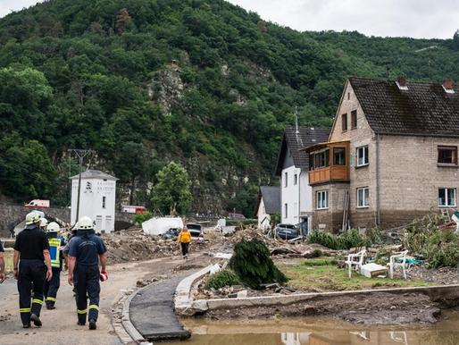 Γερμανία: Ασύλληπτη τραγωδία με 93 νεκρούς και 1.300 αγνοούμενους-Έγινε κατολίσθηση στην Κολωνία