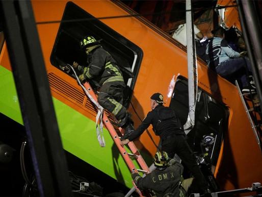 Μεξικό: 15 νεκροί - Κατέρρευσε γέφυρα του Μετρό πάνω σε δρόμο