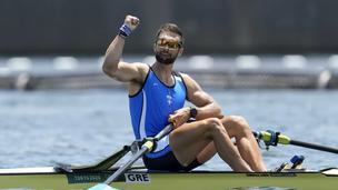 Το πρώτο χρυσό μετάλλιο στους Ολυμπιακούς για την Ελλάδα από τον ηπειρώτη Στέφανο Ντούσκο