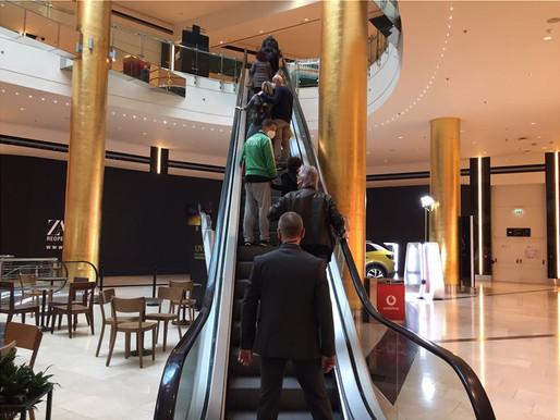 'Ανοιξαν τα εμπορικά κέντρα-Πρεμιέρα με μέτρα ασφαλείας και θερμικές κάμερες