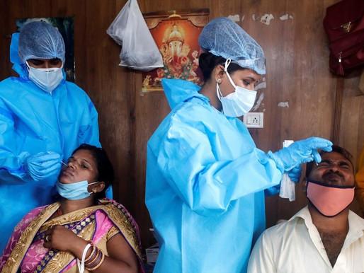 Χάος στην Ινδία με 349.691 κρούσματα: Παγκόσμιο ρεκόρ μολύνσεων