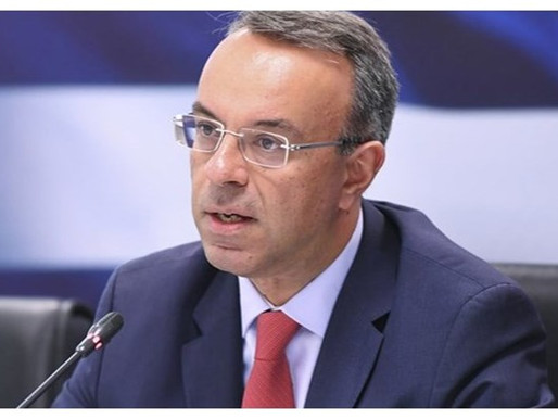 Χρήστος Σταϊκούρας: 3 δισ. ευρώ για τη στήριξη επιχειρήσεων - νοικοκυριών