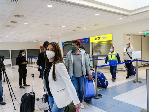 Από την Παρασκευή ανοίγει σταδιακά ο Τουρισμός - Έφθασαν οι πρώτοι Ολλανδοί τουρίστες στη Ρόδο
