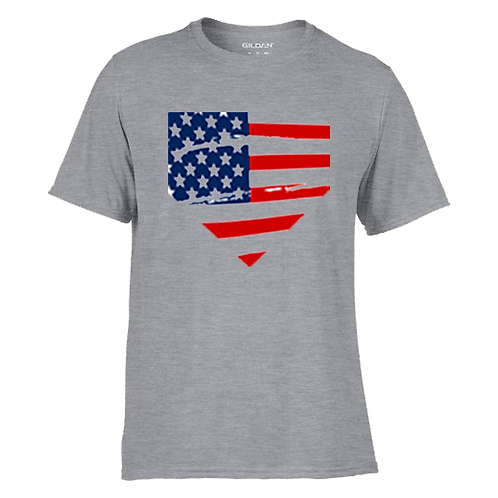 ITAA YOUTH Patriotic Cotton Feel Wicking Tee