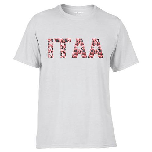 ITAA YOUTH Flag Print Cotton Feel Wicking Tee
