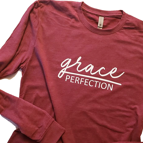 Grace Over Perfection Team Longsleeve