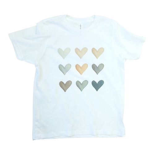 Hearts of Color  - Women's Fit