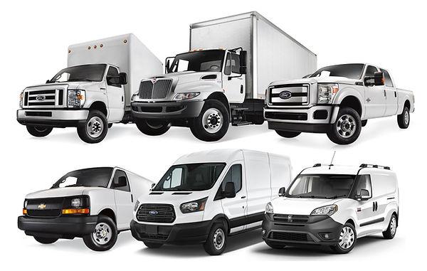 Fleet Vehicles, Services, Mitsubishi Fuso, Chevy Hino, Isuzu NPR