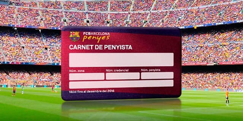 بطاقة عضوية رابطة بارسا عربلاوجرانا
