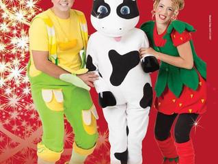فوزي موزي وتوتي مع البقرة موو بتاريخ 20/12/2014