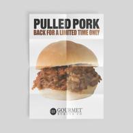 Gourmet Burger Poster