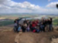 יום הולדת 50 עם משפחה וחברים בעמק חרוד