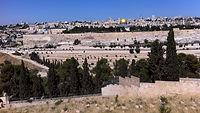 הר הזיתים והרובע הנוצרי
