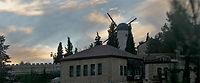 ירושלים - מתחנת הרכבת דרך טחנת הרוח לרכבת הקלה