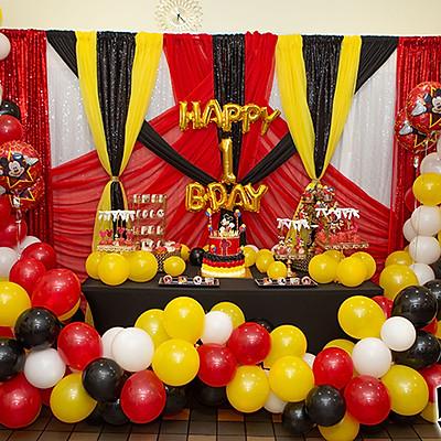 NI'CHAUN'S 1ST BIRTHDAY