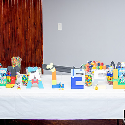 JALEEL'S FIRST BIRTHDAY PARTY