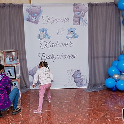 KEOANNA & KADEEM BABY SHOWER