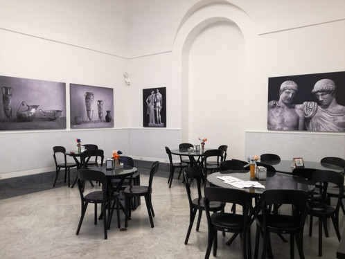LA CAFFETTERIA DEL MANN TRA FOTO D'EPOCA DI FINE OTTOCENTO E PRIMO NOVECENTO