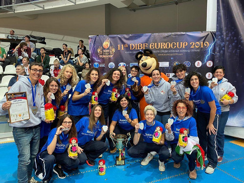 EUROCUP SORDI MOSCA 2019, DUE ALLENATRICI CAMPANE VINCITRICI DELL'ARGENTO