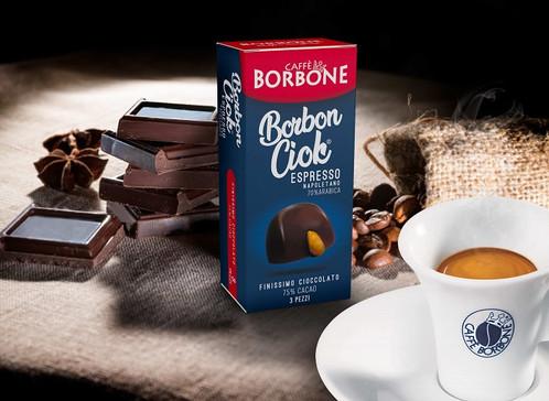 CAFFÈ BORBONE PRESENTA BORBONCIOK, IL CIOCCOLATINO FONDENTE RIPIENO AL CAFFÈ